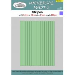 Stripes 8,1mm-8,9mm