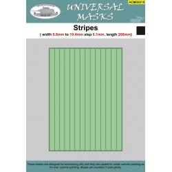 Stripes 9,8mm-10,4mm