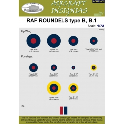 RAF ROUNDELS type B, B.1