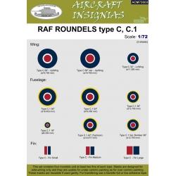 RAF ROUNDELS type C, C.1