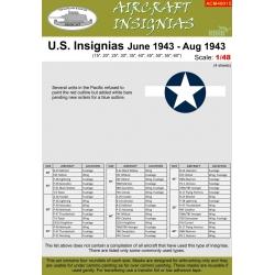 U.S. INSIGNIAS June 1943 - Aug 1943 NB