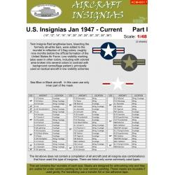 U.S. INSIGNIAS Jan 1947 - Current Part I