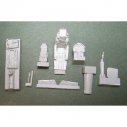 Super Etendard Interior set