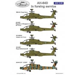 AH-64D Foreign service