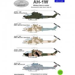AH-1W Whiskey in combat