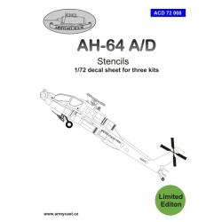 AH-64 Stencils