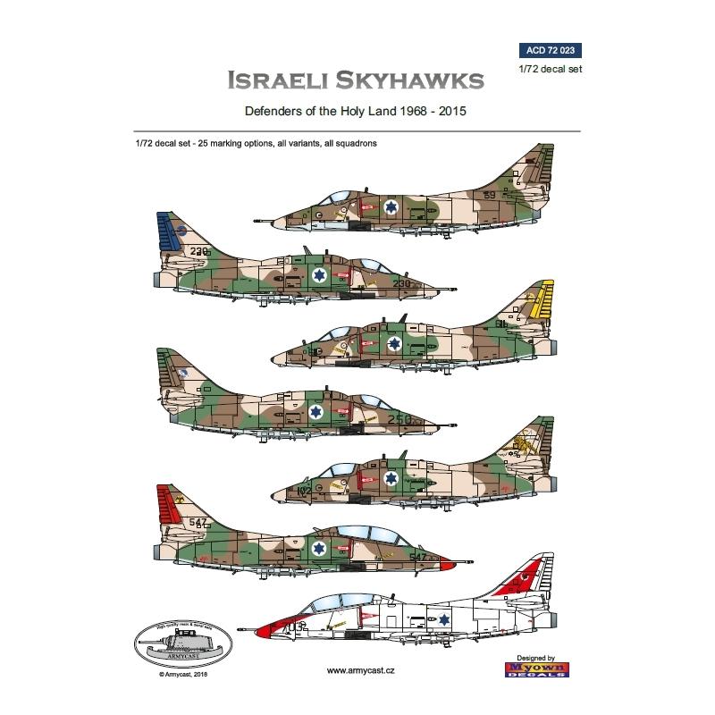 A-4/TA-4 Israeli Skyhawks