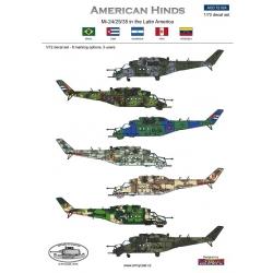 Mi-24  American Hinds