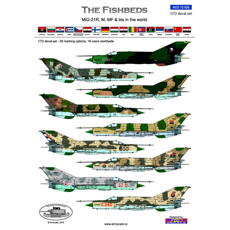 MiG-21 The Fishbeds