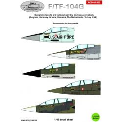 F/TF-104G Stencils