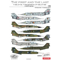 F/TF-104G The Last and the first