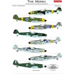 Bf 109G-2/G6 - The Mersu
