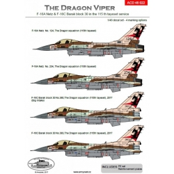 F-16A/C  The Dragon Vipers