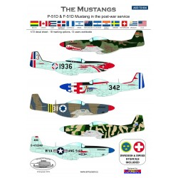 ACD 72034 P/F-51D Mustang