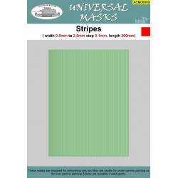Stripes 0,5mm-2,5mm