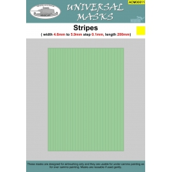Stripes 4,6mm-5,9mm