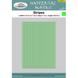Stripes 6,0mm-7,0mm