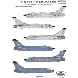 ACD 72035 F-8 FN/P Crusader